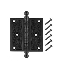 Oil-Rubbed Bronze Decorative Square Corner Door Hinge with ...