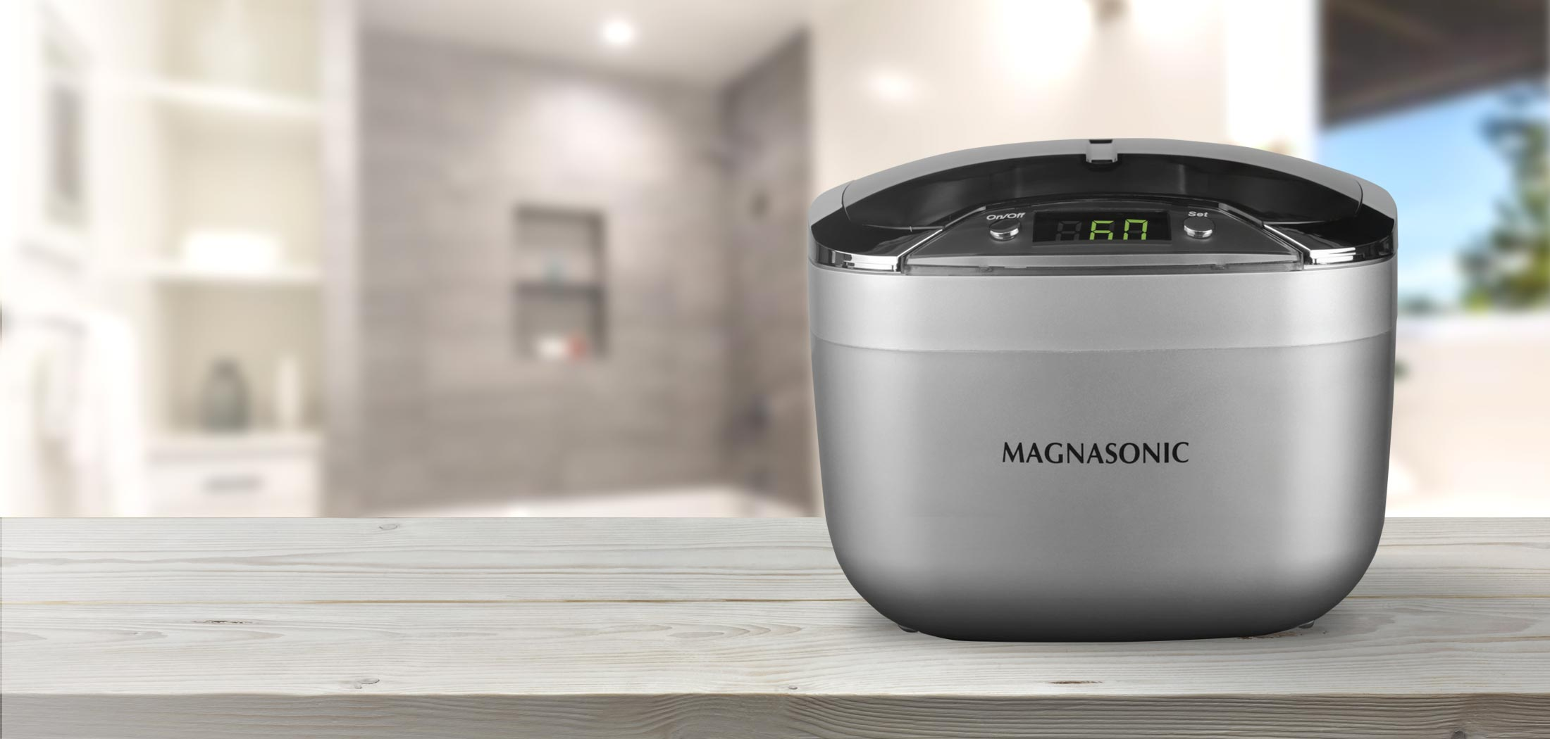 Image result for 2. MAGNASONIC Professional Ultrasonic Jewelry and Eyeglass Cleaner With Digital Timer MGUC500: