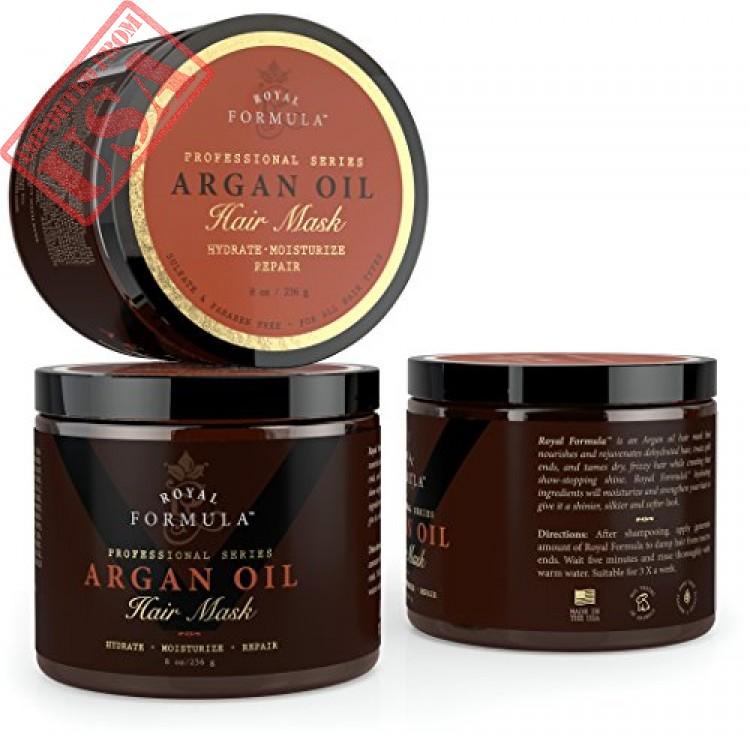 Argan Oil Hair Mask 100% ORGANIC Argan & Almond Oils ...