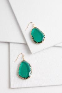 Versona | faceted dangle earrings