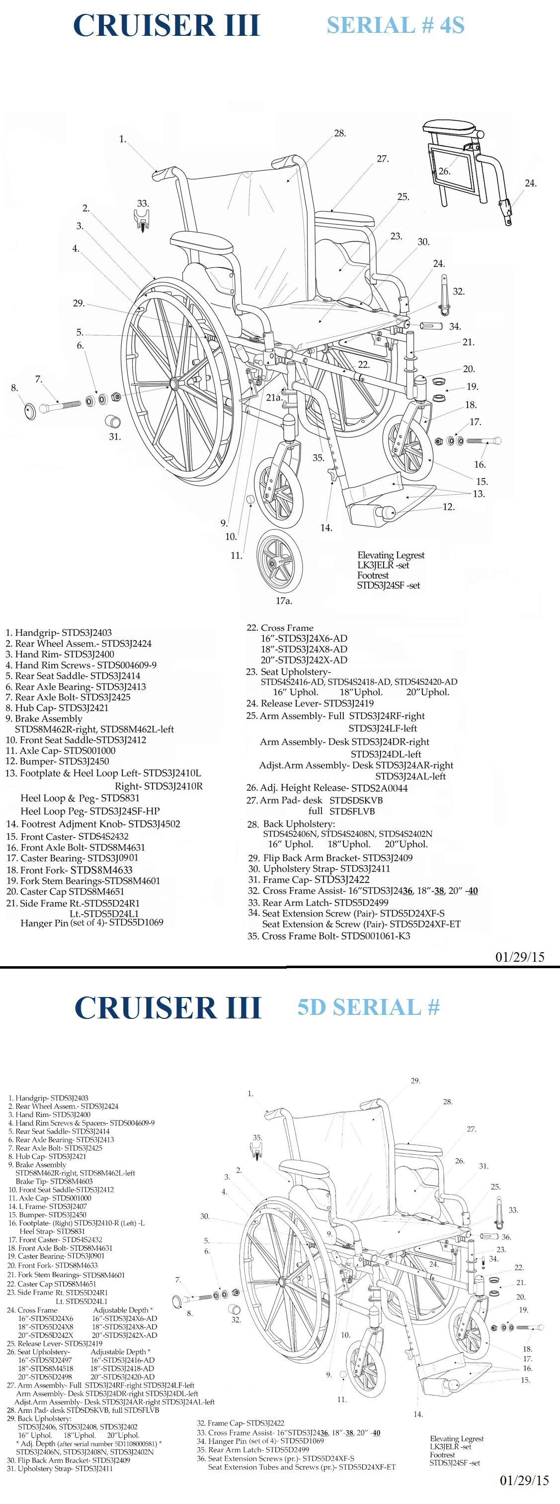 Cruiser III Dual Axle Wheelchair on Sale! [Save Up to 30%]