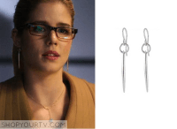Arrow: Season 3 Episode 10 Felicitys Silver Earrings ...