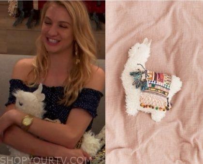 season 1 episode 1 alana s llama pillow