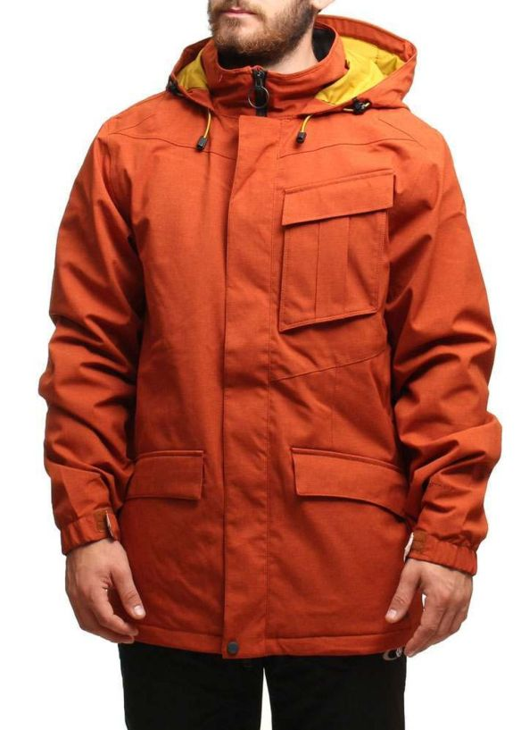 VOLCOM MAILS SNOW JACKET Rust