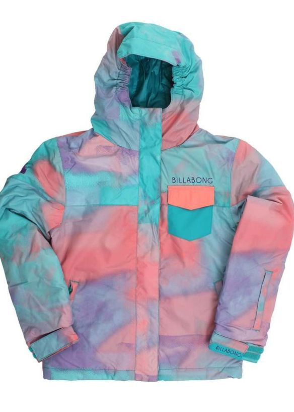 BILLABONG GIRLS LADYBUG SNOW JACKET Jade
