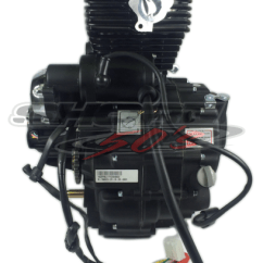 Lifan Cdi Wiring Diagram Lennox Furnace 150cc Vertical Engine With Accessories And Reverse