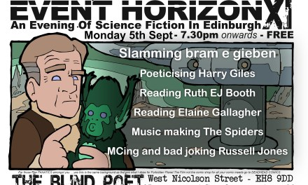 Event Horizon 11, 5th September 2016
