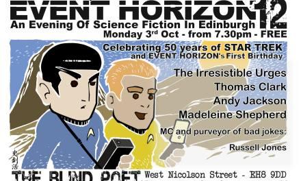 Event Horizon 12 – 3rd October 2016