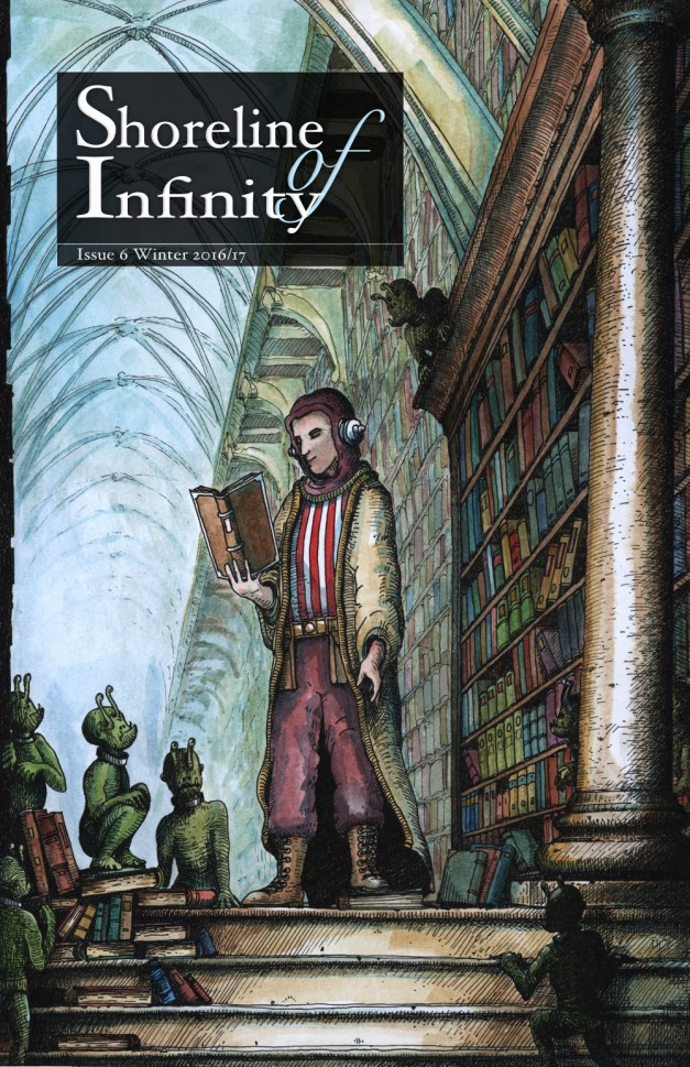 Shoreline of Infinity 6 Cover by Stephen Pickering