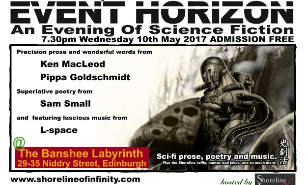 Shoreline of Infinity Event Horizon 10th May 2017