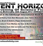 Shoreline of Infinity Event Horizon  - Unbound at the Edinburgh International Book Festival 16th August