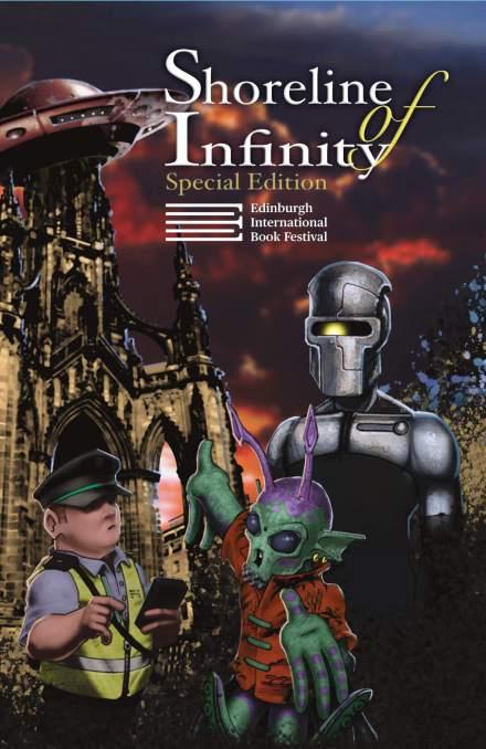 Shoreline of Infinity EIBF Edition front cover