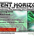 Shoreline of Infinity Event Horizon: an Evening with Ken MacLeod