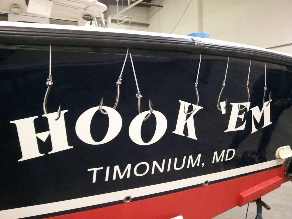 Boat Lettering  Shore Sign Company
