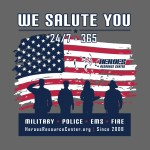 T-Shirt Design for Heroes Resource Center in Leander