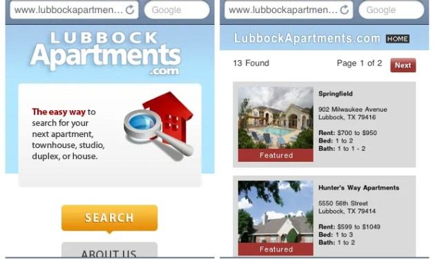 LAA Mobile Site Development