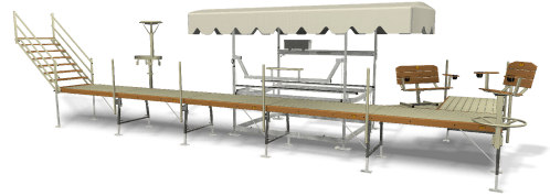 small resolution of shorestation boat lift and dock system options