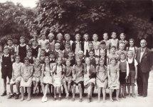 Elementary School Girls Barefoot