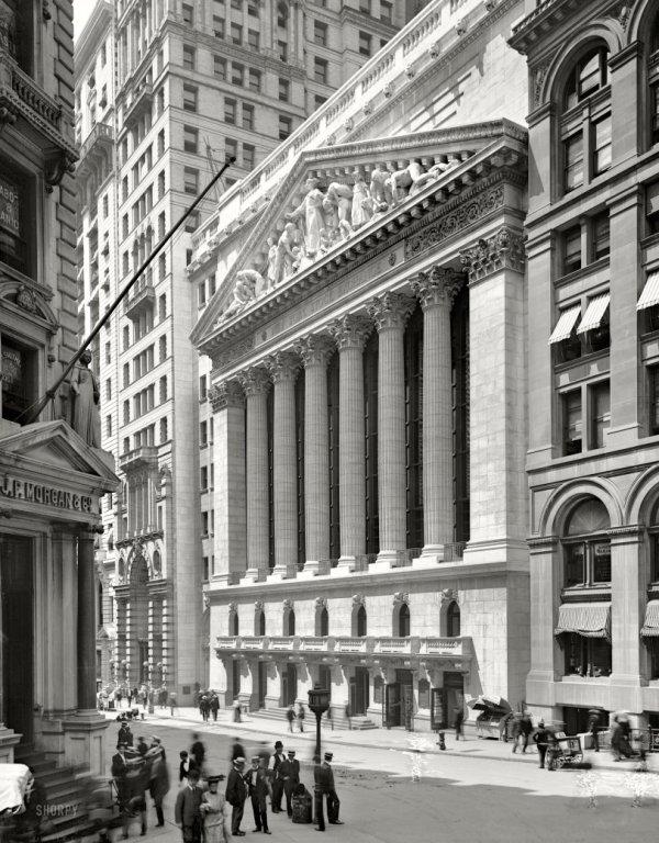 York Stock Exchange 1904 Shorpy