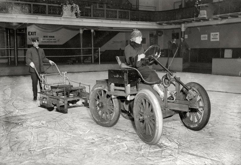 Proto Zamboni 1917  Shorpy  Historical Photos