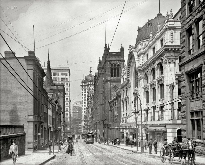 Baltimore Skyline Car Wallpaper The Nixon 1908 Shorpy Vintage Photography