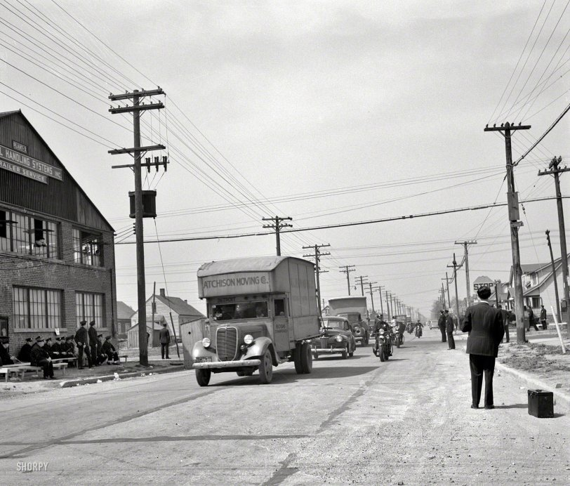 Moving Day 1942 Shorpy Historical Photos