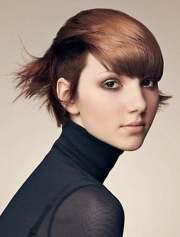 trendy short haircuts 2013