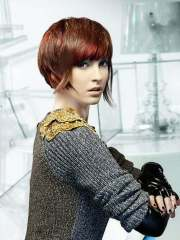 short hair color women 2012-2013