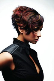 short hair color trends 2012