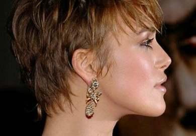 Short Hairstyles Keira Knightley Kapsels Korte Kapsels
