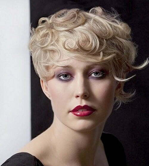 Short Curly Hairstyles 2012 2013