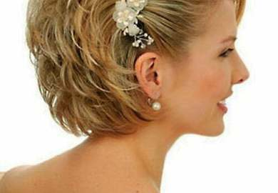 Best Wedding Hairstyles For Short Hair Short