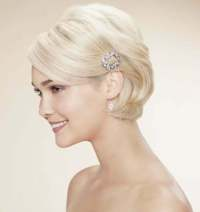 Wedding Hairstyles for Short Hair 2012  2013