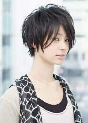 mixed short hairstyles