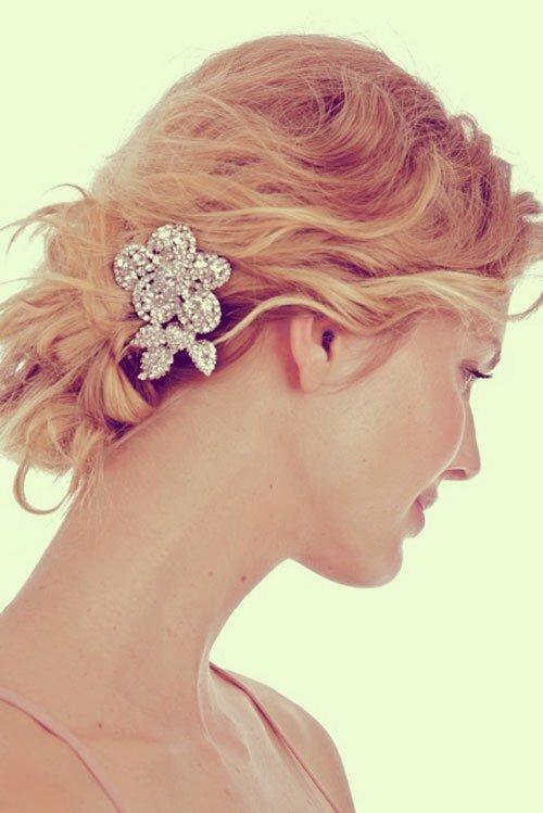 Short Wedding Hairstyles For Fine Hair Short Hairstyles 2016