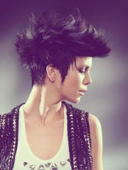 mixed short hairstyles