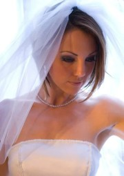 super short wedding hairstyles