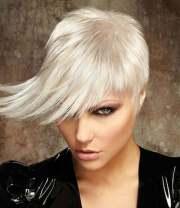 blonde short hairstyles 2013