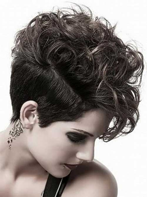 25 Best Short Haircuts For Curly Hair Short Hairstyles 2016
