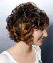 short haircuts curly