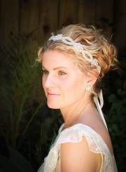 bridal short hair ideas