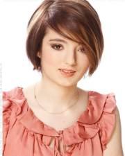 easy short straight hair styles