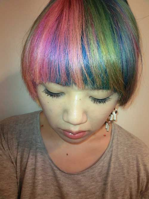 2013 Hair Color Trends for Short Hair  Short Hairstyles 2017  2018  Most Popular Short