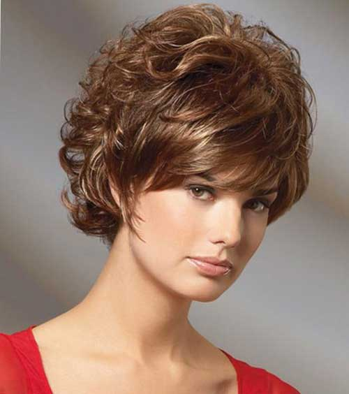35 New Short Curly Hairstyles  Short Hairstyles 2017