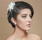 bridal short hair ideas