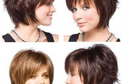 Very Short Layered Bob Hairstyles