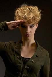 curly short haircuts 2013