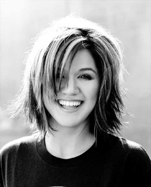 Kelly Clarkson Short Haircut Short Hairstyles 2016 2017 Most