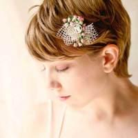 10 Super Short Bridal Hairstyles | Short Hairstyles 2017 ...