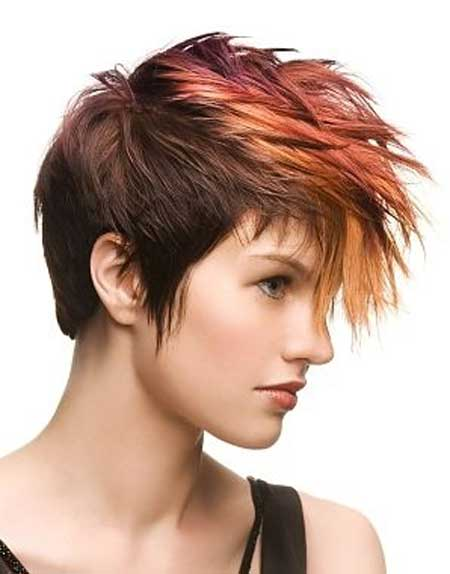 Ombre Color For Short Hair Short Hairstyles 2016 2017 Most